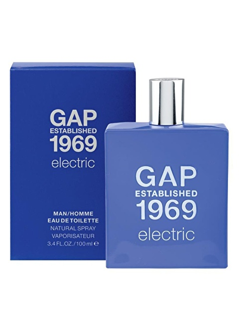 Gap 1969 Gap Electric Erkek Edt 100 Ml Renksiz